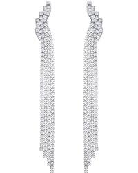 Swarovski - Fit Clip Earrings - Lyst