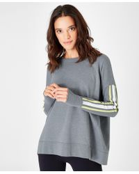 Sweaty Betty - Simhasana Slogan Sweatshirt - Lyst