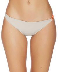 Basta - Tonga Reversible Bungee Bikini Bottom Color: Tap Size: L - Lyst