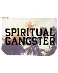 Spiritual Gangster - Varsity Palms Sunrise Pouch - Lyst