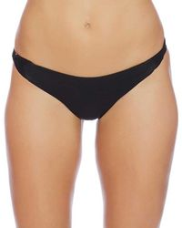 Luxe by Lisa Vogel - Liquid Cali Cut Bikini Bottom Color: Black Size: Xs - Lyst