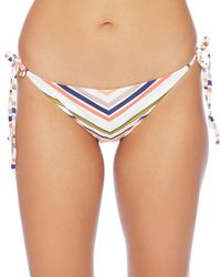 Splendid - Line Up Tie Side Bikini Bottom - Lyst