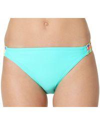 InMocean - Juniors Firefly Crochet Trim Tab Side Hipster Swim Bottom - Lyst