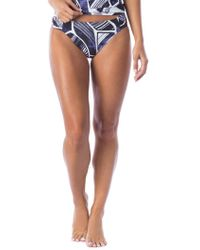 La Blanca - Bali Hai Side Shirred Hipster Swim Bottom - Lyst