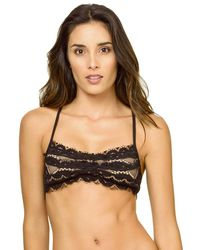 Pilyq - Midnight Lace Bralette Swim Top - Lyst