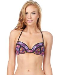 Bikini Lab - The Bright Album Push Up Underwire - Lyst