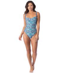La Blanca - Tuvalu Tapa Sweetheart Mio One Piece Swimsuit - Lyst