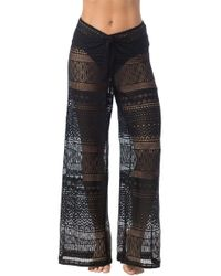 Kenneth Cole - Tough Luxe Pant Cover-up - Lyst
