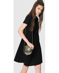 Roman - A-line Pleated Dress - Lyst