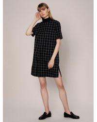Roman - Mockneck Shift Dress - Lyst