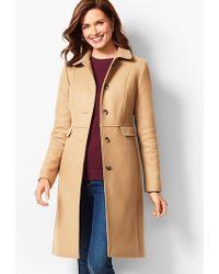 Talbots - Italian Wool Coat - Lyst
