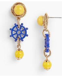 Talbots - Rope & Wheel Earrings - Lyst