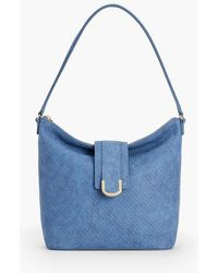 Talbots - Woven Leather Hobo Bag - Lyst