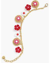 Talbots - Floral Cluster Bracelet - Lyst
