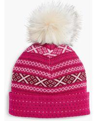 Talbots - Fair Isle Winter Hat - Lyst