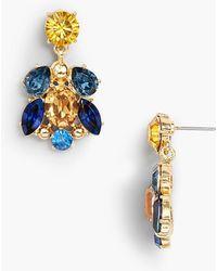 Talbots - Petite Crystals Earrings - Lyst