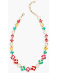 Talbots - Geometric Statement Necklace - Lyst