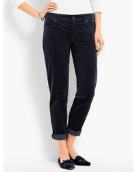 Talbots | Flawless Cord Relaxed Ankle Boyfriend | Lyst