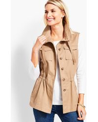 Talbots - Casual Vest - Lyst