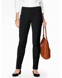 Talbots - Refined Bi-stretch Side-zip Slim Leg - Curvy Fit - Lyst