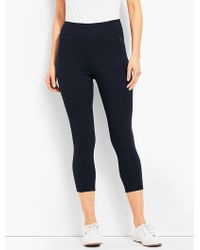 Talbots - Everyday High-waist Cropped Legging - Lyst