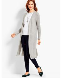 Talbots | Cashmere Duster | Lyst