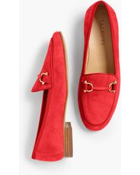 Talbots Cassidy Kid Suede Loafers