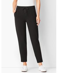Talbots - Pima Blend French Terry Jogger - Lyst