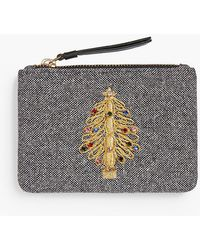 Talbots - Novelty Pouch - Holiday Tree - Lyst