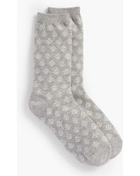 Talbots - Sprouting Floral Trouser Sock - Lyst