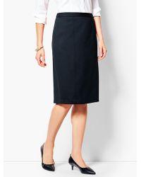 Talbots - Ponte Pencil Skirt - Lyst
