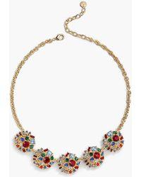 Talbots - Jeweled Statement Necklace - Lyst