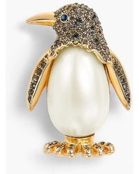 Talbots - Holiday Brooch Collection - Penguin - Lyst