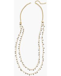 Talbots - Pearl Layer Necklace - Lyst