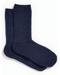 Talbots - Melange Trouser Socks - Lyst