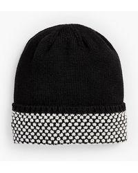 Talbots - Textured-cuff Winter Hat - Lyst