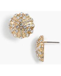 Talbots - Snow-globe Stud Earrings - Lyst