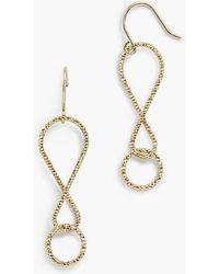 Talbots - Delicate Drop Earrings - Lyst