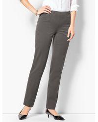Talbots - Refined Bi-stretch Straight-leg Pants - Lyst