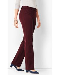 Talbots - Refined Bi-stretch Barely Boot Pant - Curvy Fit - Lyst