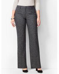 Talbots - Wide-leg Windsor Donegal Pants - Curvy Fit - Lyst