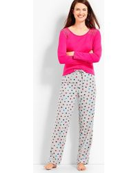 Talbots - Perfect Present Pj Set - Lyst