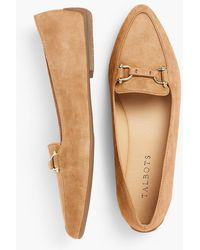 Talbots - Francesca Driving Moccasins-kid Suede - Lyst