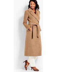 Talbots - Luxe Camel Hair Coat - Lyst