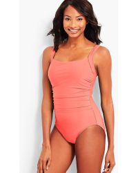 Talbots | Cabana One-piece-solid | Lyst