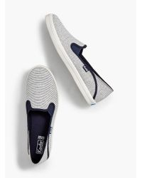Talbots - Keds(tm) Crashback Slip-on Trainers - Lyst