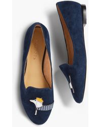 Talbots - Ryan Embroidered Dachshund Loafers - Lyst