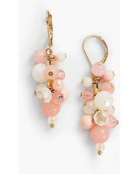 Talbots - Beaded Cluster Earrings - Lyst