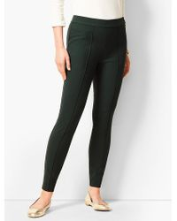 Talbots - High-waist Bi-stretch Skinny Ankle Pants - Lyst