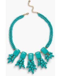 Talbots | Oversized Bead Statement Necklace | Lyst
